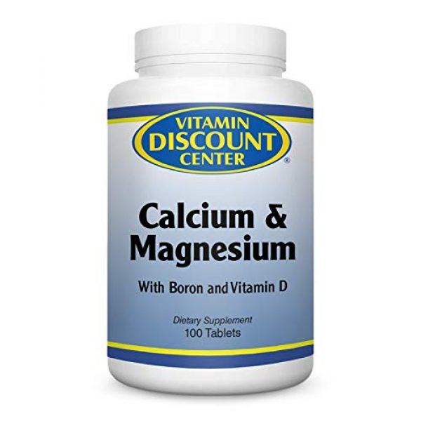 Vitamin Discount Center Calcium Supplement 1 Vitamin Discount Center Calcium and Magnesium High Potency, 100 Tablets