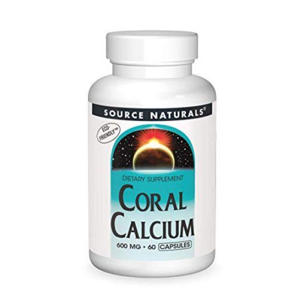 Source Naturals Calcium Supplement 1 Source Naturals Coral Calcium 600 Mg, 60 Capsules
