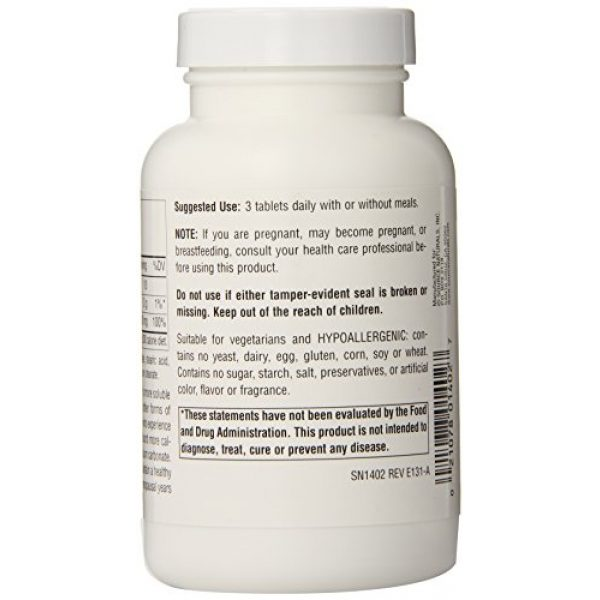 Source Naturals Calcium Supplement 3 SOURCE NATURALS Calcium Citrate 333 Mg Tablet, 90 Count