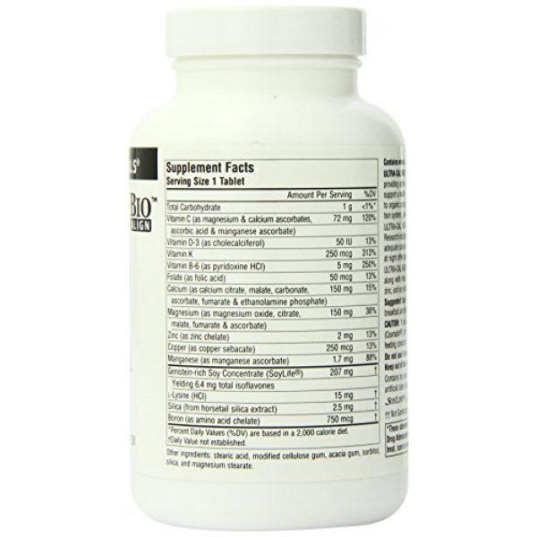 Source Naturals Calcium Supplement 2 Source Naturals Ultra-Cal Night With Vitamin K - Krebs Cycle Calcium Complex - 120 Tablets