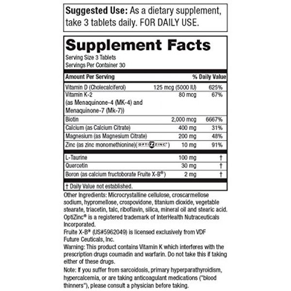 Purity Products Calcium Supplement 2 Dr. Cannell's Advanced D with Calcium & Magnesium | Purity Products | Packed with Magnesium, Magnesium Citrate, Zinc, Boron, Taurine | Bone Density Support with Vitamin D* | 90 Tablets