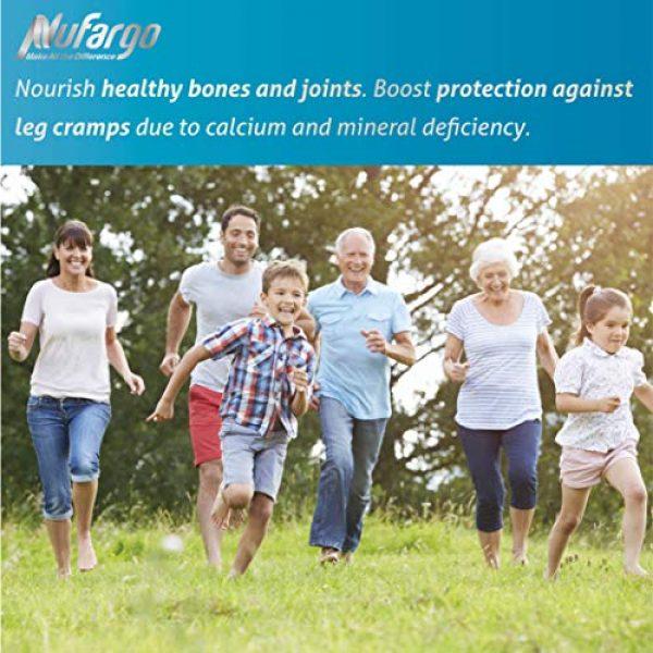 NUFARGO Calcium Supplement 3 MilCal Calcium + Magnesium Supplement   Sugar-Free Chewables for Women, Men, and Kids   60 Tablets by NuFargo Global Inc.