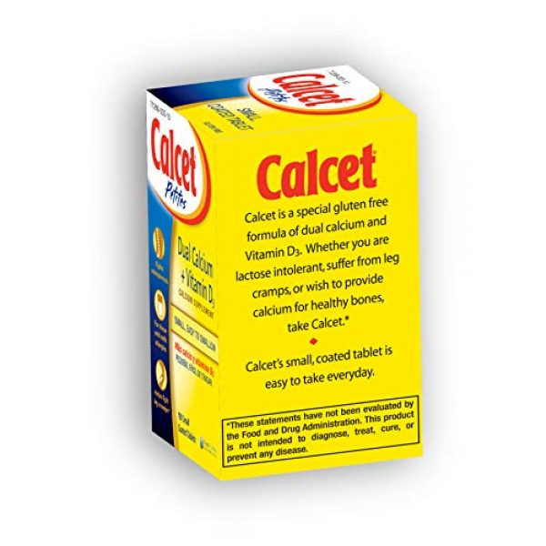 Mission Pharmacal Calcium Supplement 3 Mission Pharmacal Calcet Petites, 100 Small Coated Tablets