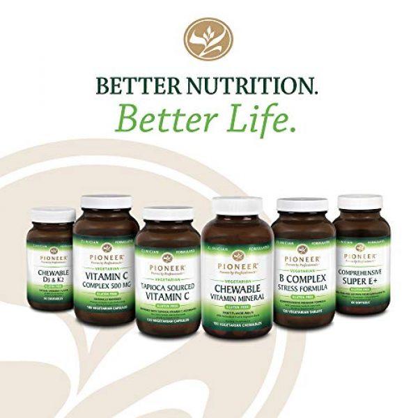 Pioneer Nutritional Formulas Calcium Supplement 6 Pioneer Cal Mag & Vitamin D | Calcium & Magnesium Supplement for Adults | High Absorption | Verified Gluten Free | 120 Vegetarian Capsules
