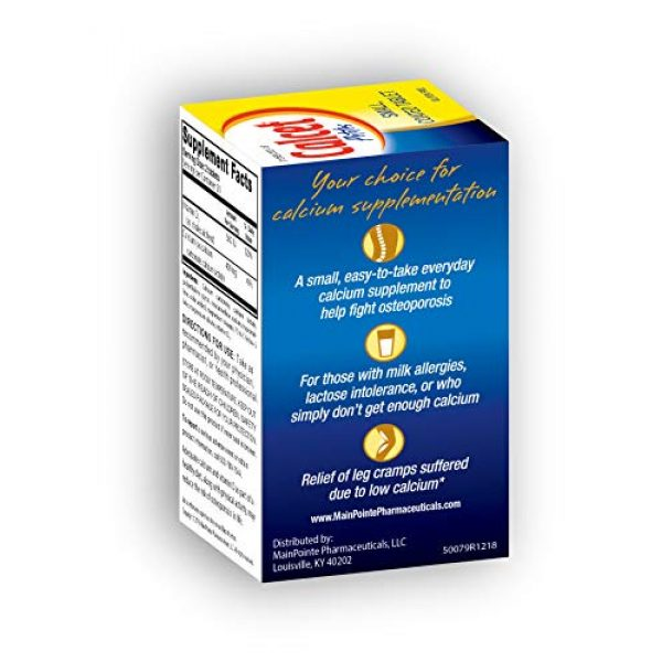 Mission Pharmacal Calcium Supplement 4 Mission Pharmacal Calcet Petites, 100 Small Coated Tablets