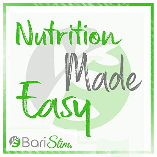 Bari Slim Calcium Supplement 7 BariSlim Bariatric Calcium Citrate Plus with Magnesium and Vitamin D - 600 mg of Calcium Citrate Per Serving - Formulated for Patients After Weight Loss Surgery - 30 Servings