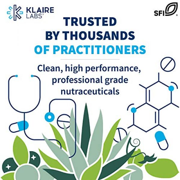 Klaire Labs Calcium Supplement 5 Klaire Labs Osteothera Capsules - Hypoallergenic & Multifactorial Bone Support Formula with Calcium, Vitamin K, D3, Magnesium & Boron (120 Capsules)