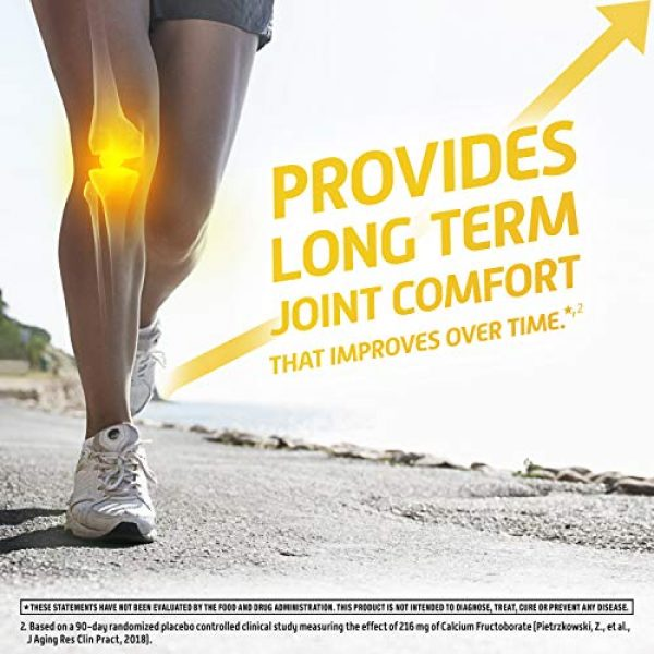 Move Free Calcium Supplement 7 Calcium & Calcium Fructoborate Based Ultra Faster Comfort Tablets Value Pack, Move Free (64 Count in A Box), Joint Health Supplement That Provides Clinically Proven Joint Comfort in 1 Tiny Pill