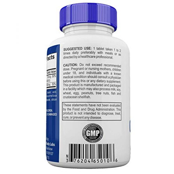 Universal Body Labs Calcium Supplement 4 Calcium Carbonate with Vitamin D3, Bariatric Supplements- Fast and Easy Absorption, High Solubility, 600mg Bariatric Calcium Carbonate Formula