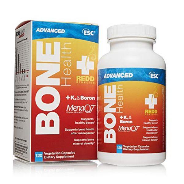 Redd Remedies Calcium Supplement 5 Redd Remedies, Bone Health Advanced, Supports Bone Mineral Density, 120 Capsules