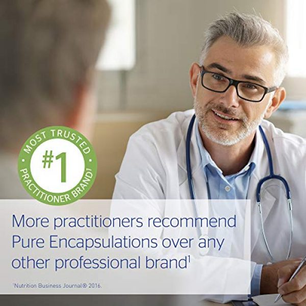 Pure Encapsulations Calcium Supplement 6 Pure Encapsulations - Calcium-D-Glucarate - Hypoallergenic Dietary Supplement to Support Cell Function - 60 Capsules