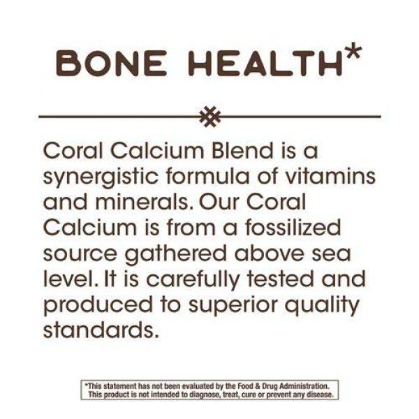 Nature's Way Calcium Supplement 6 Nature's Way Coral Calcium 600 mg, 180 Count