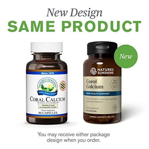 Nature's Sunshine Calcium Supplement 2 Nature's Sunshine Coral Calcium Capsules 90 Capsules