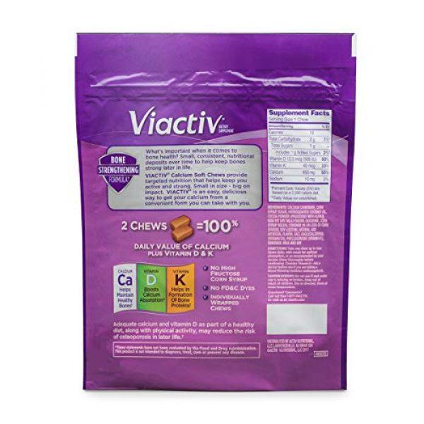 Viactiv Calcium Supplement 2 Viactiv Calcium Plus D Vitamin Chews, 180 Count