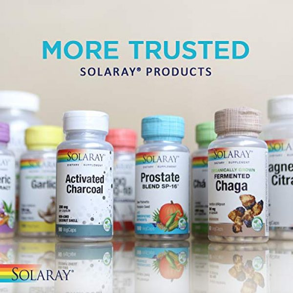 Solaray Calcium Supplement 6 Solaray Calcium Hydroxyapatite 1000mg | Highly Advanced Calcium Supplement to Help Support Healthy Bones & Teeth, Nerve & Muscle Function | 120 Caps