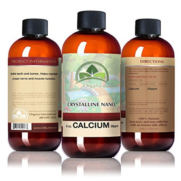 TraceMinerals.org Calcium Supplement 4 The Best Calcium Mineral Supplement - Nano Sized Calcium Single Mineral Supplement