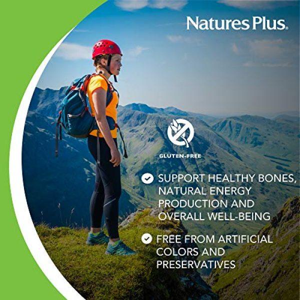Nature's Plus Calcium Supplement 4 NaturesPlus Dolomite 44 Grain - 300 Vegetarian Tablets - Calcium & Magnesium Supplement, Heart Health Support, Promotes Healthy Bones - Hypoallergenic, Gluten-Free - 75 Servings