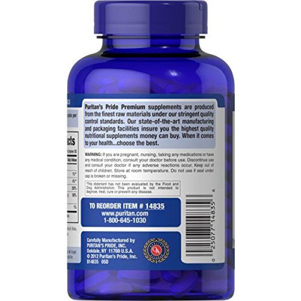 Puritan's Pride Calcium Supplement 4 Puritan's Pride Calcium 1500 mg with Vitamin D 1000 IU-120 Coated Caplets, 120 Count (Pack of 1) (14835)