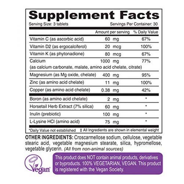 DEVA Calcium Supplement 2 DEVA Vegan Cal MAG Plus - Supplement with Calcium, Magnesium, Zinc, Boron, Vitamin C, D & K - Daily Nutritional Supplement to Maintain Strong Bones* - 90 Vegetarian/Vegan Tablets, 2-Pack