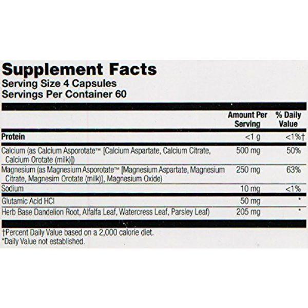 Solaray Calcium Supplement 6 Solaray Calcium and Magnesium Asporotate Capsules   240 Count