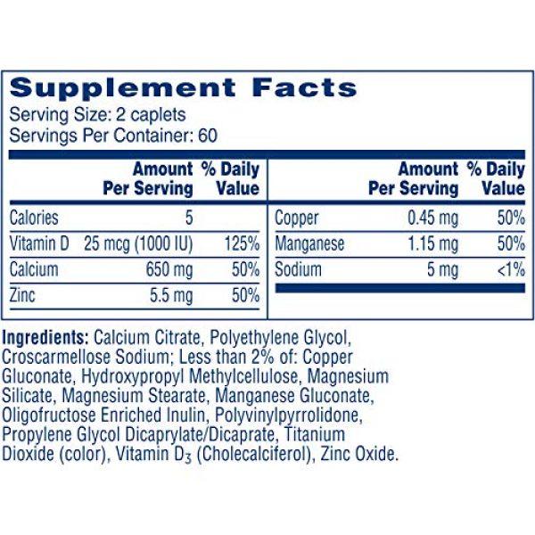 CITRACAL Calcium Supplement 7 Citracal Maximum Plus Coated Caplets, 120 ea