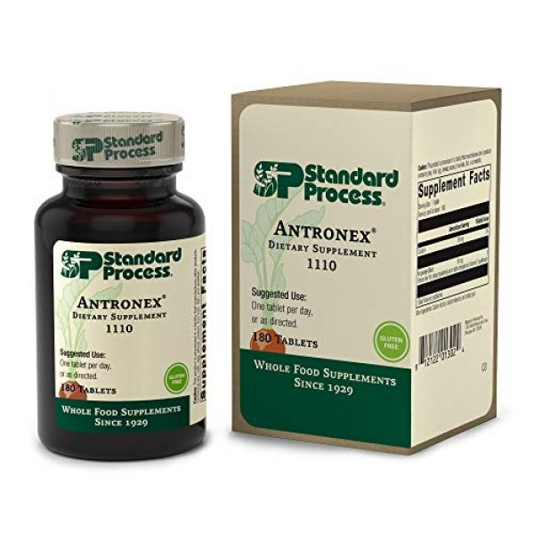 Standard Process Calcium Supplement 3 Standard Process Antronex - Whole Food Immune System Support and Liver Health Supplement with Calcium - 180 Tablets