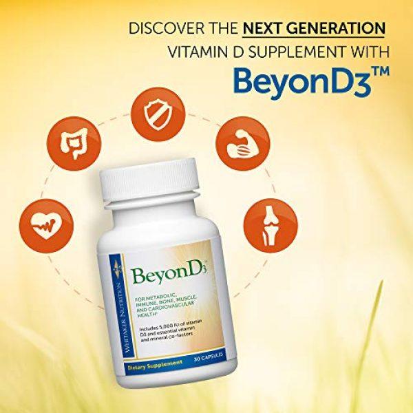 Dr. Whitaker Calcium Supplement 5 Dr. Whitaker's BeyonD3 - Vitamin D3 Supplement 5,000 IU Plus Boron, Vitamin K2, Magnesium & Zinc - Supports Immune Health, Calcium Metabolism & Bone Mineralization (30 Capsules)
