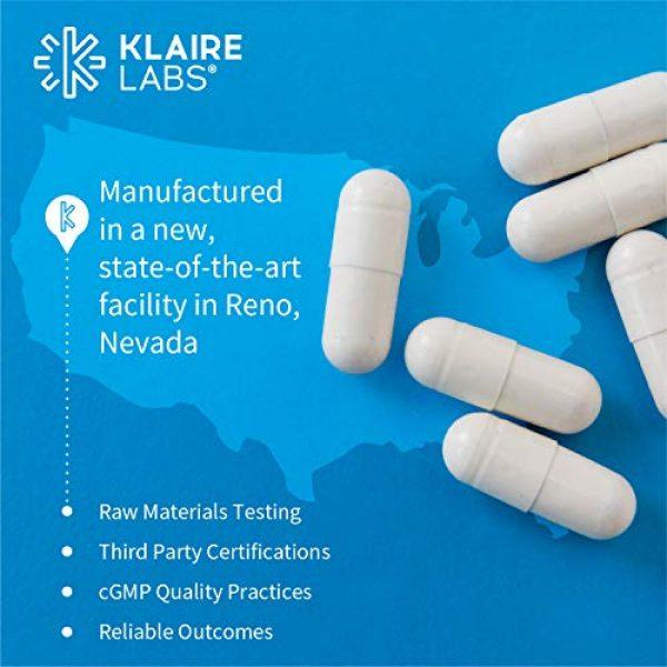 Klaire Labs Calcium Supplement 5 Klaire Labs Calcium Complex - Certified BSE-Free Calcium Microcrystalline Hydroxyapatite & Citrate with Phosphorus (90 Capsules)
