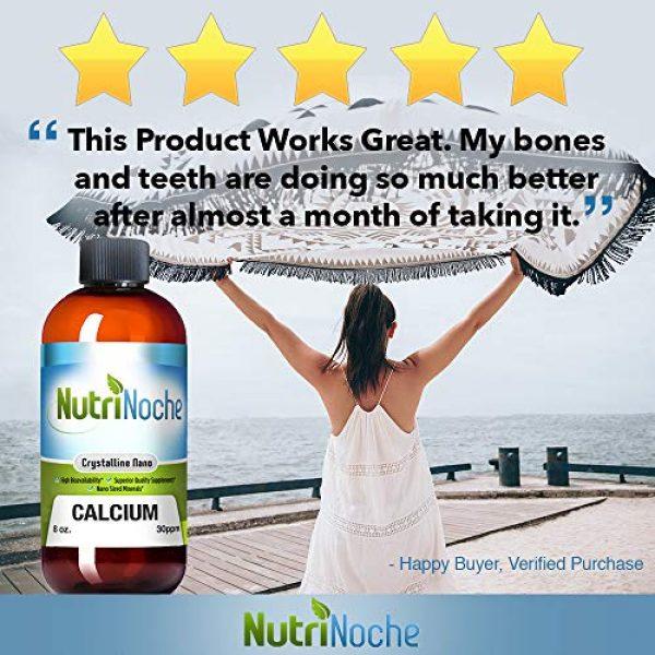 NutriNoche Calcium Supplement 7 NutriNoche Best Calcium Supplement -Natural Formula, Essential Support for Strong Bones & Teeth
