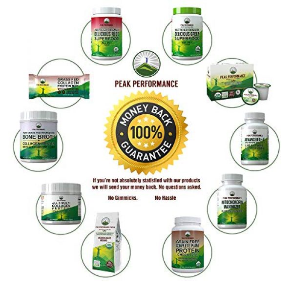 Peak Performance Calcium Supplement 7 Raw Whole Food Vegan Calcium Supplement by Peak Performance. Plant Based Calcium with Vitamin C, D3, K, Magnesium. Capsules for Bone, Joints. with 25 Organic Vegetables and Fruits 120 Pills, Tablets