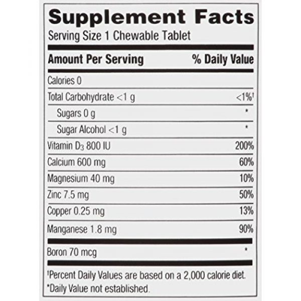 Caltrate Calcium Supplement 6 Caltrate Calcium & Vitamin D3 Supplement 600+D3 Plus Minerals Chewable Tablet, 600mg (Cherry, Orange, and Fruit Punch Flavors, 90 Count) (Pack of 2)