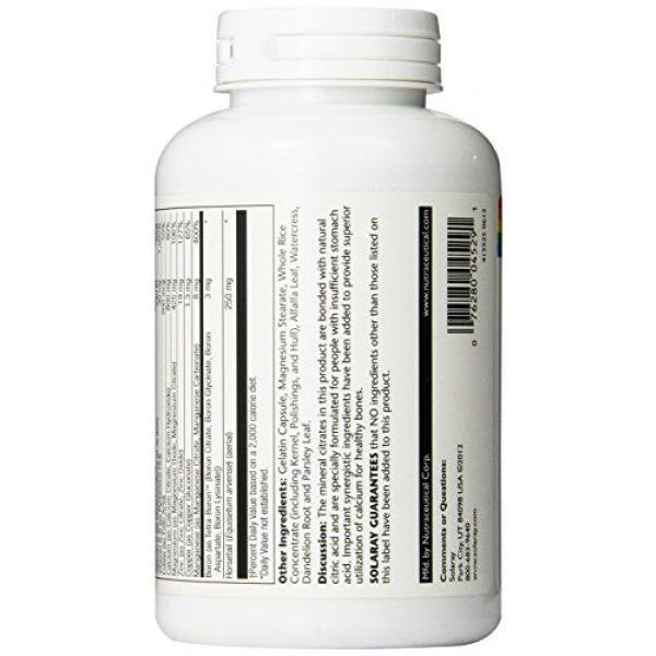 Solaray Calcium Supplement 4 Solaray Calcium Citrate Supreme Capsules, 800mg, 180 Count