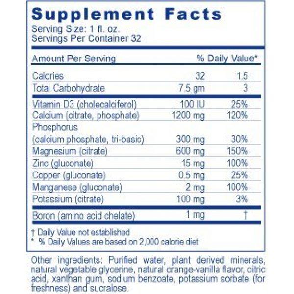Youngevity Calcium Supplement 3 SUPRALIFE CAL TODDY- 32 FL OZ