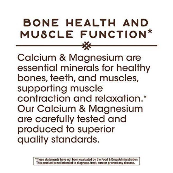 Nature's Way Calcium Supplement 6 Nature's Way Calcium & Magnesium Mineral Complex, 750 mg per serving, 250 Capsules