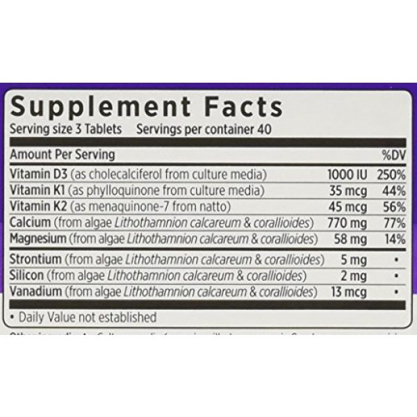 New Chapter Calcium Supplement 3 New Chapter - Bone Strength Take Care 120 Tabs Pack Of 3