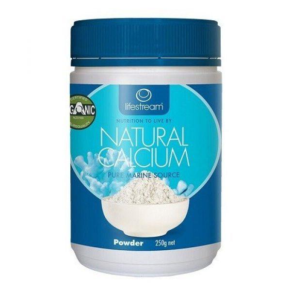 Lifestream Calcium Supplement 3 LifeStream Natural Calcium 250g Powder