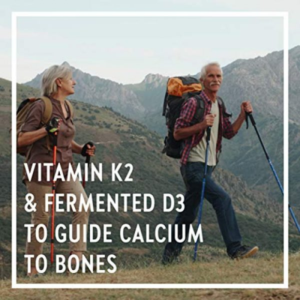 New Chapter Calcium Supplement 4 New Chapter Calcium Supplement - Bone Strength Whole Food Calcium with Vitamin K2 + D3 + Magnesium, Vegetarian, Gluten Free 270 Count (3 Month Supply)