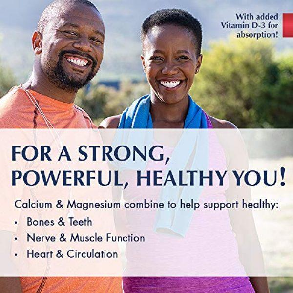 KAL Calcium Supplement 3 KAL Liquid Cal-Mag+ Vitamin D-3 | Natural Raspberry Flavor | Healthy Bones, Muscle & Heart Support | 30 Servings | 16 oz
