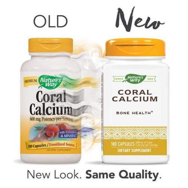 Nature's Way Calcium Supplement 2 Nature's Way Coral Calcium 600 mg, 180 Count