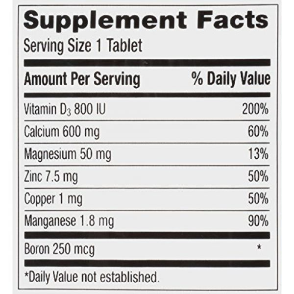 Caltrate Calcium Supplement 7 Caltrate Calcium & Vitamin D3 Supplement 600+D3 Plus Minerals Tablet, 600 mg (120 Count) (Pack of 2)