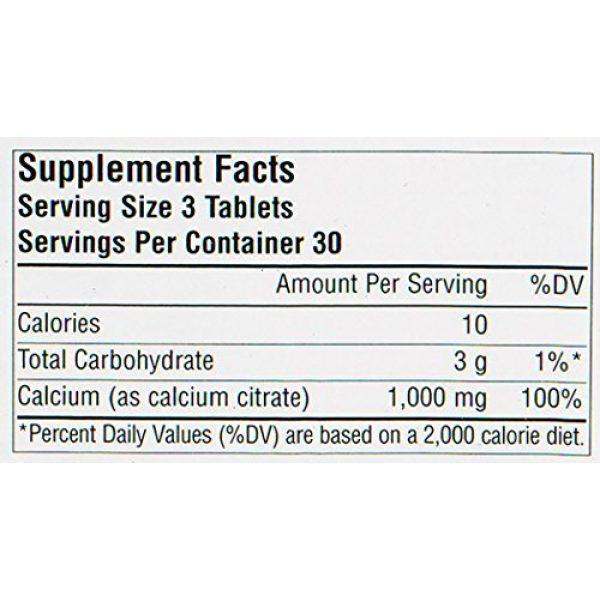 Source Naturals Calcium Supplement 5 SOURCE NATURALS Calcium Citrate 333 Mg Tablet, 90 Count