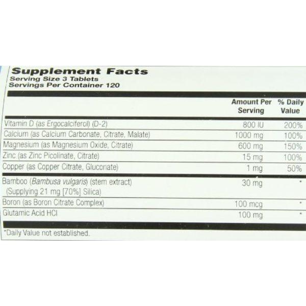 Nature's Life Calcium Supplement 4 Nature's Life Cal/Mag/Zinc Tablets, 1000/600/15 Mg, 360 Count