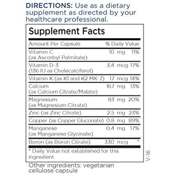 Metabolic Maintenance Calcium Supplement 5 Metabolic Maintenance Rebuild - Bone Health Support Supplement with Calcium, Vitamins D + K2, Zinc, Magnesium Citrate + Trace Minerals, No Fillers (180 Capsules)