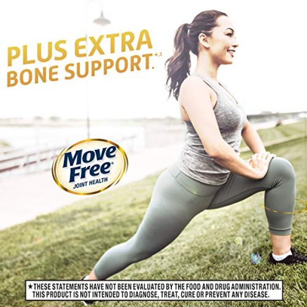 Move Free Calcium Supplement 7 Type-II Collagen, Calcium, Vitamin D3, Move Free Ultra Joint Support Tablets (60 Count In A Box), Clinically Proven to Deliver Better Joint Comfort That Improves Over Time*'1