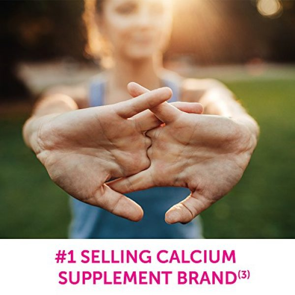 Caltrate Calcium Supplement 2 Caltrate 600+D3 Calcium and Vitamin D Supplement Tablet for maximum calcium absorption, 600 mg -200 Count