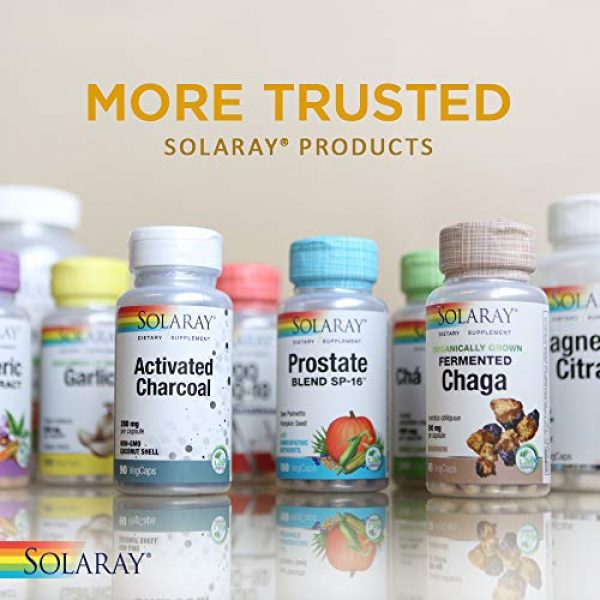 Solaray Calcium Supplement 6 Solaray Calcium EAP 500 mg   Aminoethyl Phosphate for Healthy Immune System Support   Lab Verified   60 VegCaps