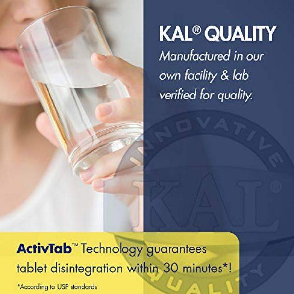 KAL Calcium Supplement 4 KAL Dolomite Tablets, 250.4 mg, 500 Count