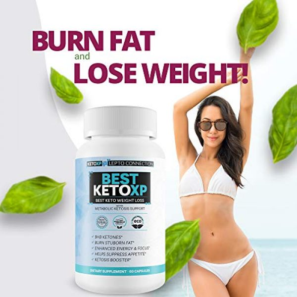 Keto XP Lepto Connection Calcium Supplement 6 Best Keto XP - Best Keto Weight Loss - Bhb Keto Accelerator for Faster Ketosis and Faster Fat Burn - Best Keto Pills That Work for Weight Loss - Best Keto Pills for Women Weight Loss