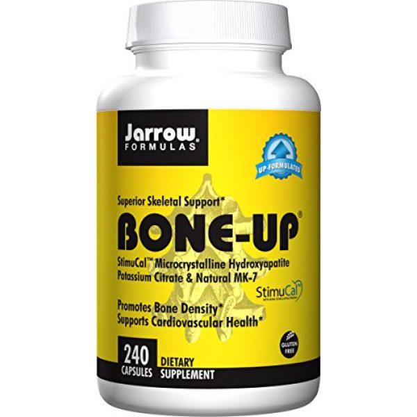 Jarrow Formulas Calcium Supplement 2 Jarrow Formulas Bone-up, Promotes Bone Density, 240 Capsules