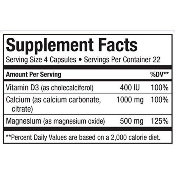 Maxi Health Calcium Supplement 6 Maxi Cal Calcium Magnesium D3 Complex 90 Count Bottle